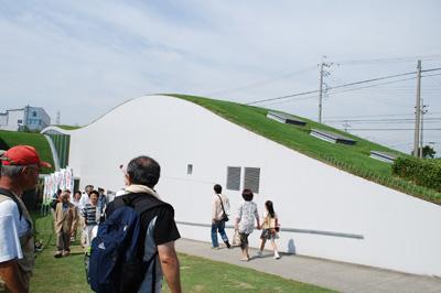 独創的な造りの建物です。