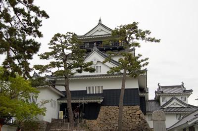 徳川家康が生まれた城で、国内有数の規模を誇る名城。江戸幕府開府後も、家格の高い譜代大名が城主を務める、重要な拠点とされていました。