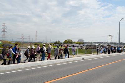 境川橋を渡り、尾張から三河の国へ。