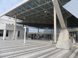 江南地域文化広場内の、江南市の歴史資料を展示する江南市民俗資料館に立ち寄ってみます。